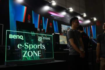 9月12日に開幕した「東京ゲームショウ2019」のBenQブース