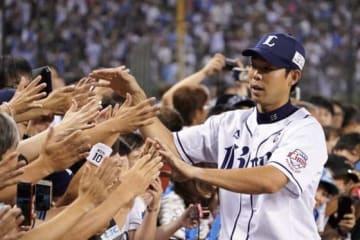 本塁打を含む3安打2打点と活躍した西武・秋山翔吾【写真:荒川祐史】