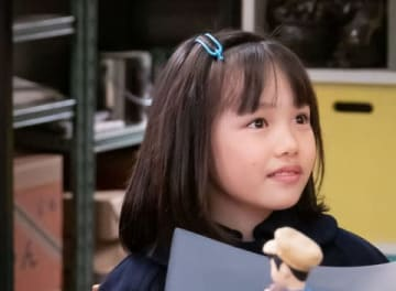NHK連続テレビ小説「なつぞら」で杉山千夏を演じる粟野咲莉ちゃん (C)NHK