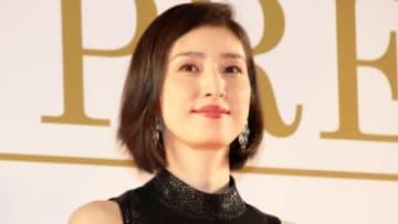 映画「最高の人生の見つけ方」のジャパンプレミアに登場した天海祐希さん
