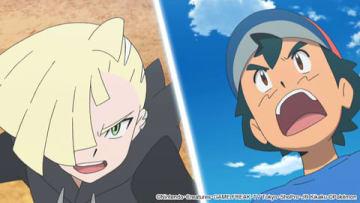 「ポケットモンスター サン&ムーン」の「誕生!アローラの覇者!!」の一場面 (C)Nintendo・Creatures・GAME FREAK・TV Tokyo・ShoPro・JR Kikaku (C)Pokemon
