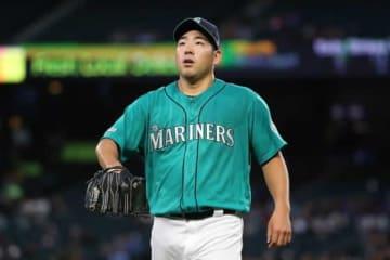 3回途中で降板となったマリナーズ・菊池雄星【写真:Getty Images】