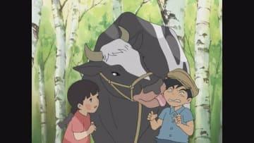 NHK連続テレビ小説「なつぞら」の劇中アニメーション「大草原の少女ソラ」=NHK提供