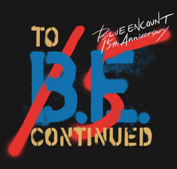BLUE ENCOUNT LIVE『to B.E. continued』ロゴ