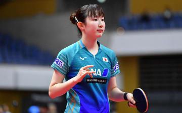 早田ひな 写真:松尾/アフロスポーツ