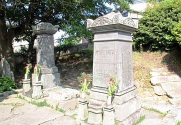 グラバー家の墓=長崎市坂本1丁目
