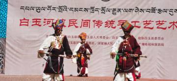高原芸術フェスティバル開催 四川省カンゼ・チベット族自治州