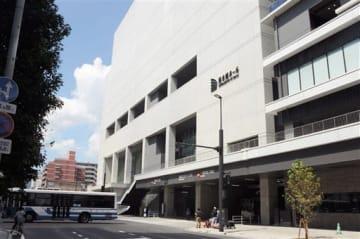 山下達郎さんのコンサートが開かれる「熊本城ホール」=熊本市中央区
