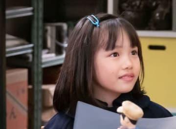 NHK連続テレビ小説「なつぞら」の第144回に登場した杉山千夏役の粟野咲莉ちゃん (C)NHK