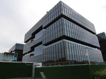 AIIB本部ビル、間もなく完成