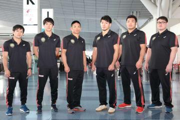 オリンピック出場枠獲得を目指す6選手