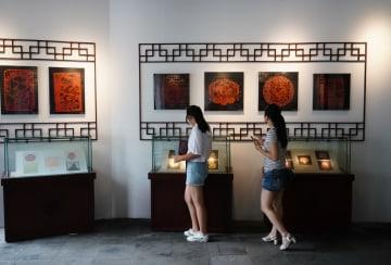民俗博物館で伝統文化の雰囲気に満ちた祝日を楽しむ 江蘇省