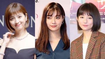 (左から)佐々木希さん、新川優愛さん、木村文乃さん