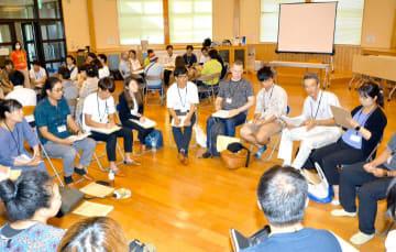 県内の地域おこし協力隊員が赤裸々トークで交流を深めた研修会