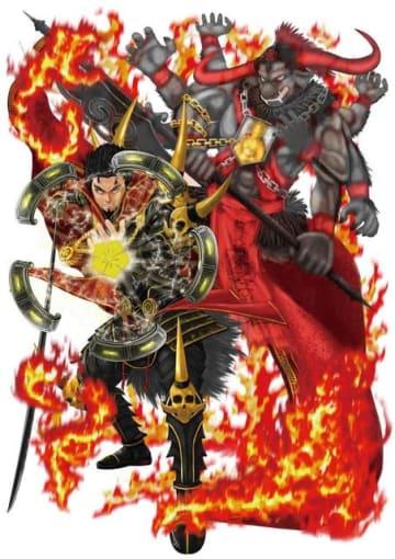 牛頭天王を表す「窠紋・木瓜紋」のキャラクター