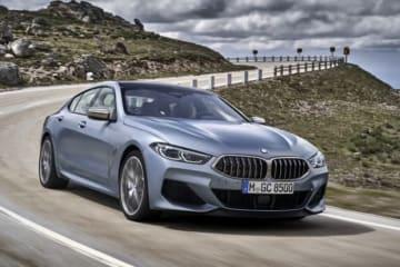 国内では2019年秋に一般公開予定のBMW・8シリーズ グランクーペ(画像: BMWの発表資料より)