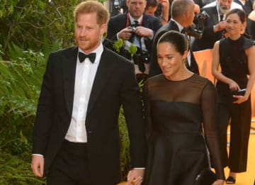 Prince Harry & Meghan Markle Make A Splash At The 'Lion King' London Premiere