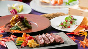 【ホテルで提供される県産食材のメニュー(三重県提供)】
