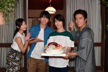 左から菜々緒、福士蒼汰、横浜流星、桐谷健太 - (C) TBS