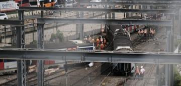 香港MTR東鉄線で列車脱線事故 8人負傷