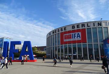 今年もIFAの会場となったメッセ・ベルリンのホール