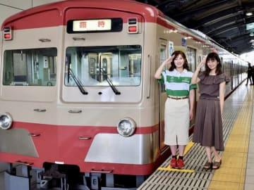 元AKB48の田名部生来さんと柏原の敬礼