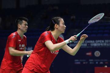 中国の鄭思維・黄雅瓊、日本ペアに勝利 バドミントン中国OP