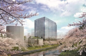 九段南一丁目プロジェクトの完成イメージ
