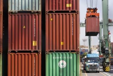 貿易収支、2カ月連続赤字 8月、対中輸出は12%減