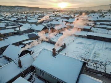中国の「北極」漠河市、8カ月の暖房期間に入る