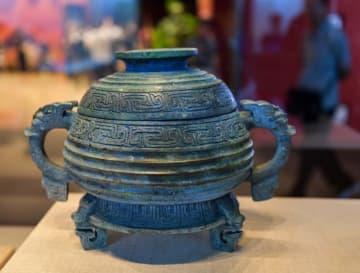 北京で返還文化財の展覧会 日本から戻った青銅器も展示