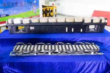 中車株洲電機、時速600キロリニアの動力装置を公開