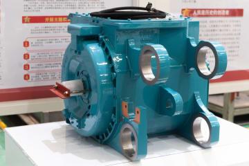 中国、時速400キロ「永久磁石高速鉄道」用モーターを開発