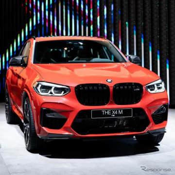 BMW X4M コンペティション(フランクフルトモーターショー2019)