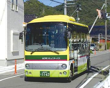 ▲今年の運行にはコミュニティバスを活用