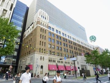新装開店する大丸心斎橋店本館=20日午前、大阪市