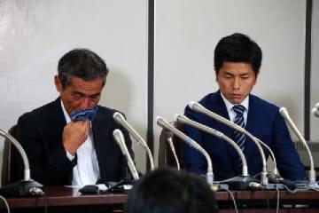遺族の上原さん(左)、松永さん(2019年9月20日、編集部撮影、司法記者クラブ)