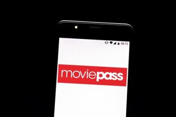 アプリと連動していたMoviePass - Photo Illustration by Rafael Henrique/SOPA Images/LightRocket via Getty Images