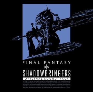 「SHADOWBRINGERS: FINAL FANTASY XIV Original Soundtrack」のジャケット (C)2010 - 2019 SQUARE ENIX CO., LTD. All Rights Reserved. LOGO ILLUSTRATION: (C) 2018 YOSHITAKA AMANO