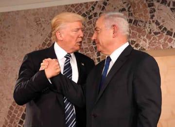 Donald Trump & Bibi Netanyahu