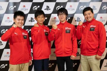 GT県代表メンバー。左から大谷さん、須原さん、山中さん、高橋さん