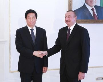 栗戦書氏、アゼルバイジャンを公式友好訪問