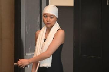 第36回「前畑がんばれ」より。前畑秀子選手にふんする上白石萌歌 - (C)NHK