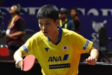 張本智和、日本勢最高の銅メダル獲得<アジア卓球選手権・男子単>