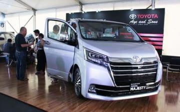 TTASがミャンマーで新たに発売したマジェスティ=22日、ヤンゴン(NNA)