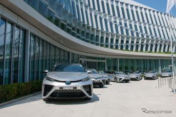 トヨタの燃料電池自動車、MIRAI(ミライ)