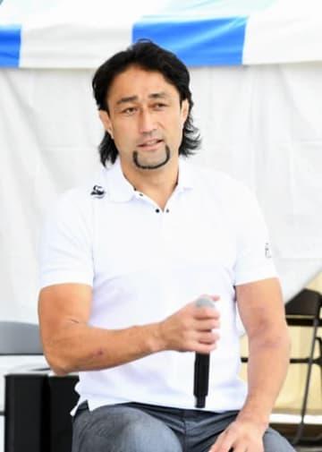 ラグビー日本代表について語る大野選手