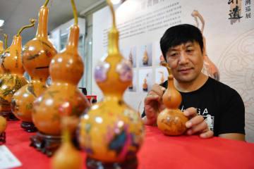 山東省淄博市の無形文化遺産、台湾で巡回展示