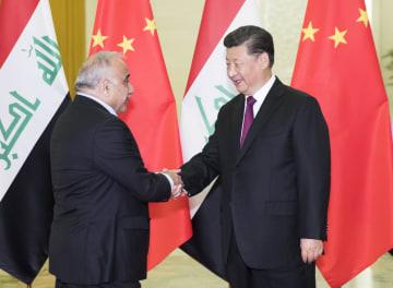 習近平主席、イラク首相と会見 中東地域の安定維持を強調