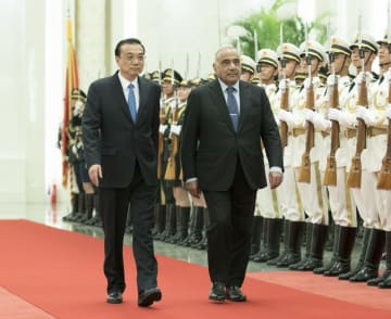 李克強総理、イラク首相と会談 多分野の協力拡大を強調